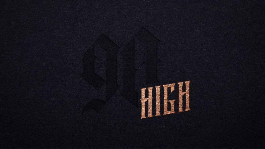 90 High logo
