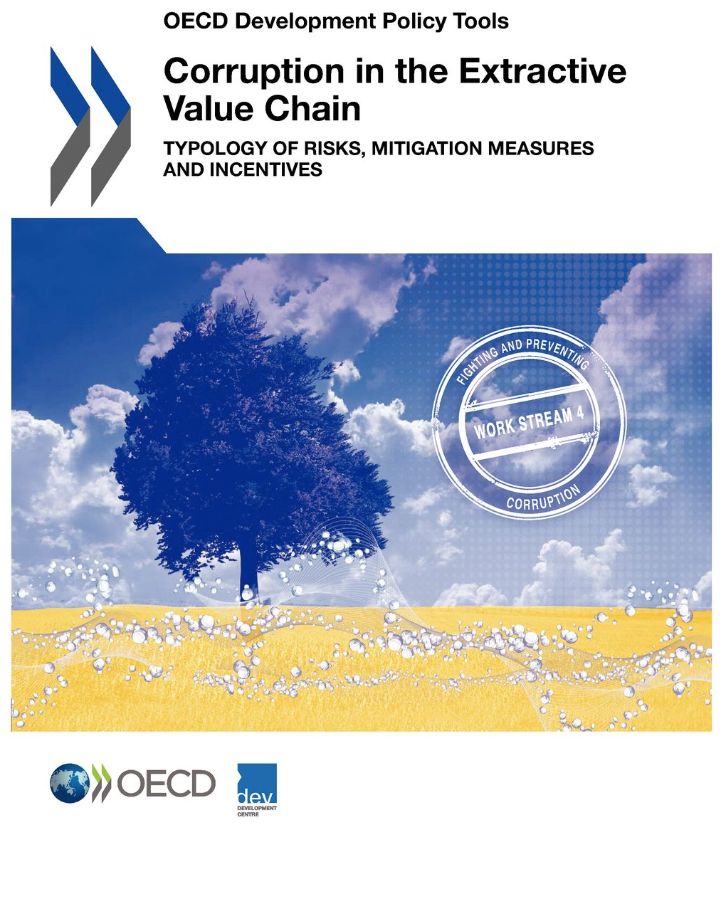 OECD report cover on corruption in the extractive value chain