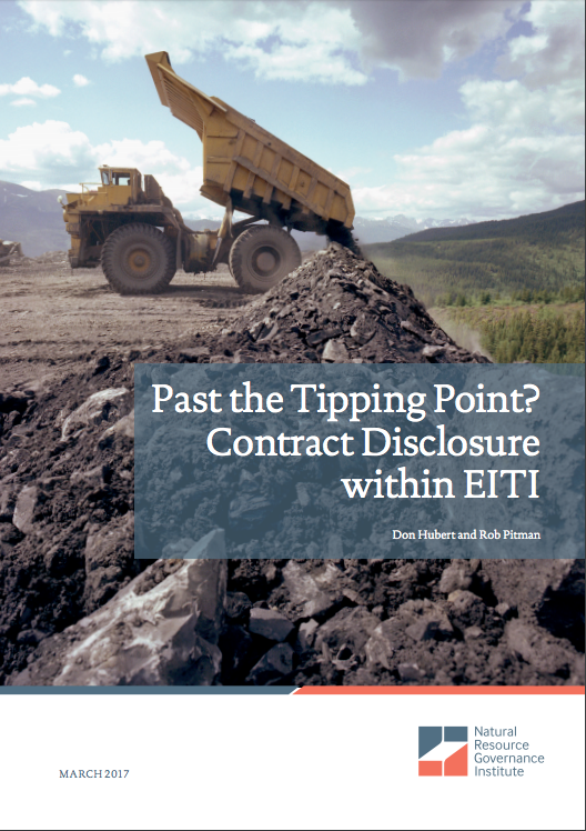 Report cover first past the tipping point