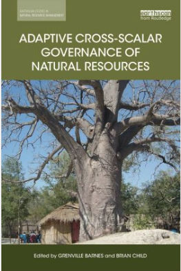 Book cover adaptive cross-scalar governance of natural resources