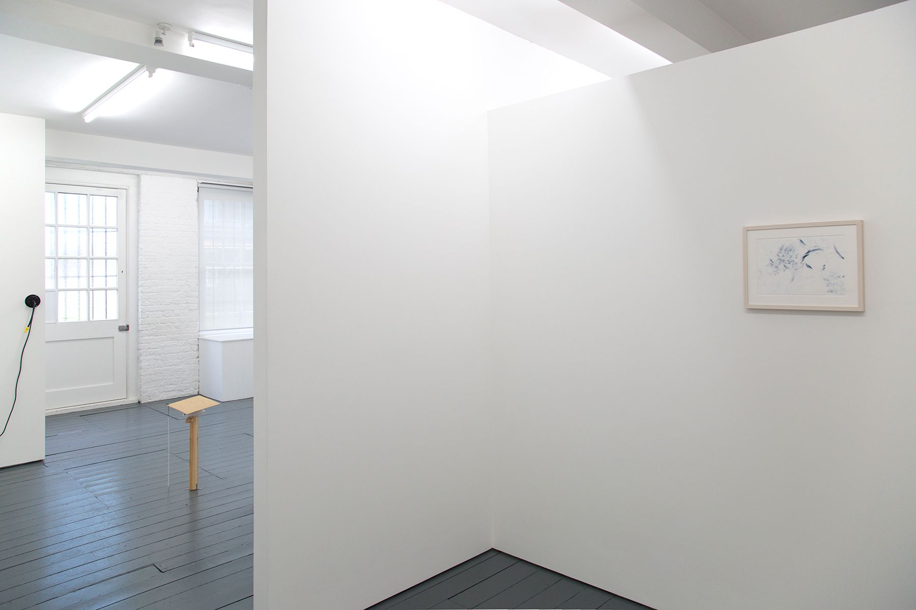 Back space installation view