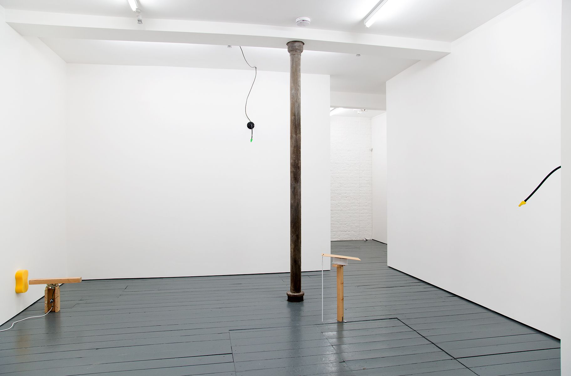 Front space installation view