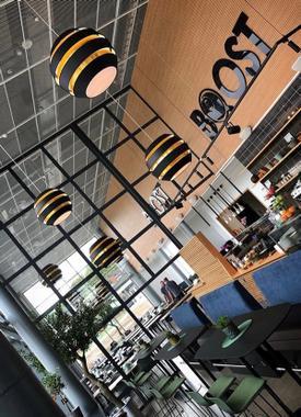 Jupiter Boost cafe