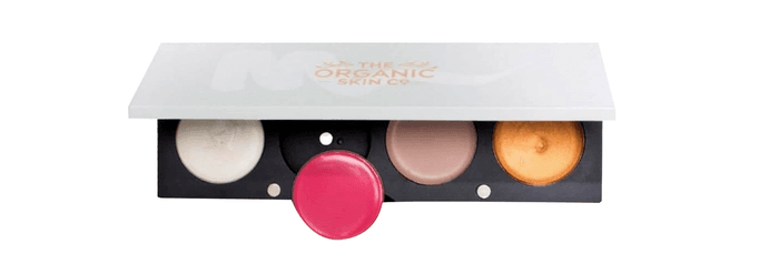 The Organic Skin Co. Customisable 4 Palette and Pods