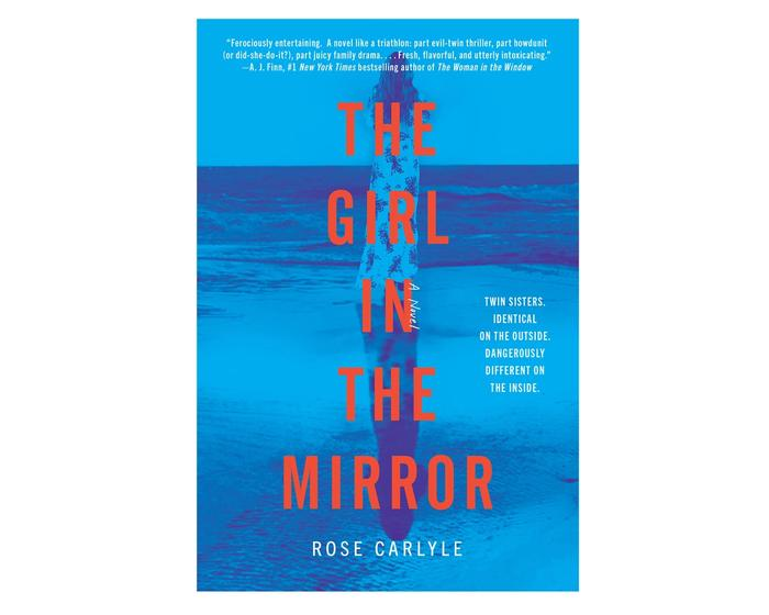 The Girl in the Mirror by Rose Carlyle on white background