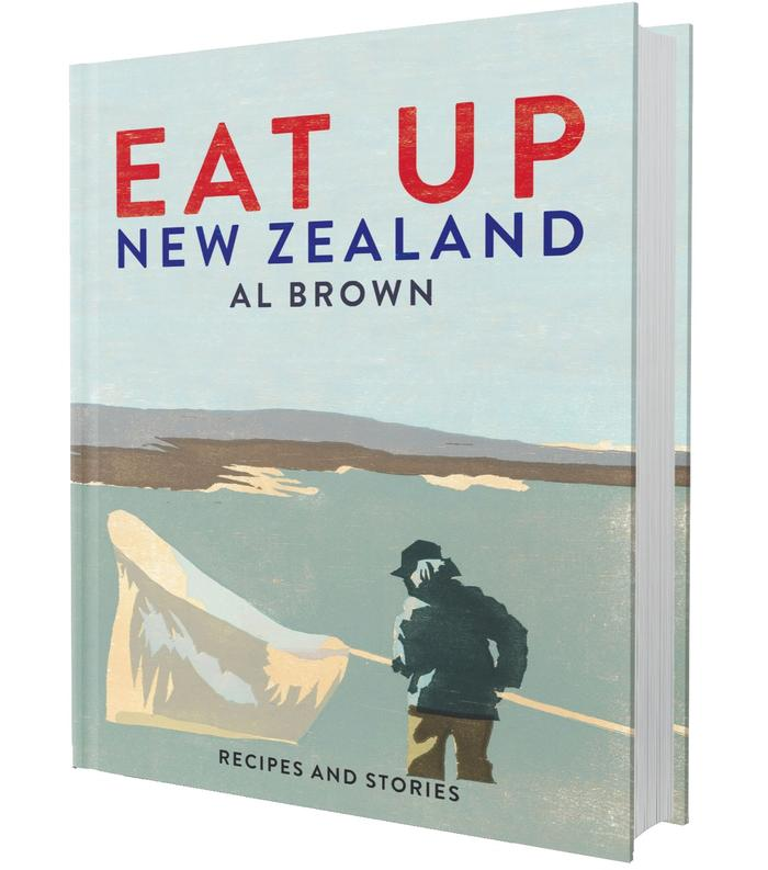 Eat Up New Zealand cook book illustrated cover