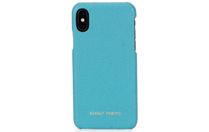 Turquoise Deadly Ponies phone cover
