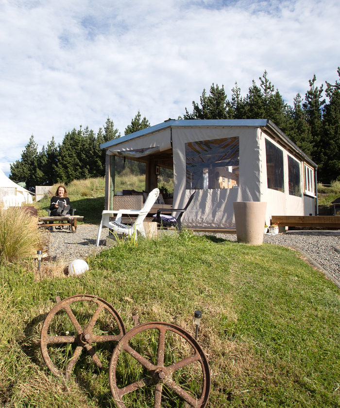 Glamping at Tawanui Farm