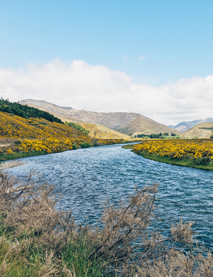 A river flowing through Hurunui