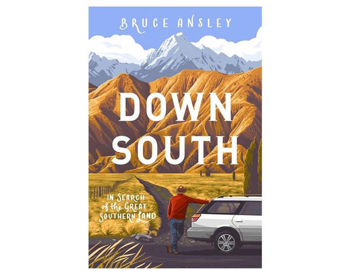 Down South by Bruce Ansley on white background