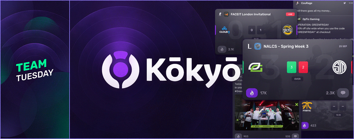 Kokyo branding used in marketing assets.