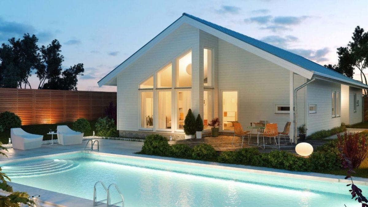 Hustypen Pärlan fra Fiskarhedenvillan utstråler diskré eleganse.