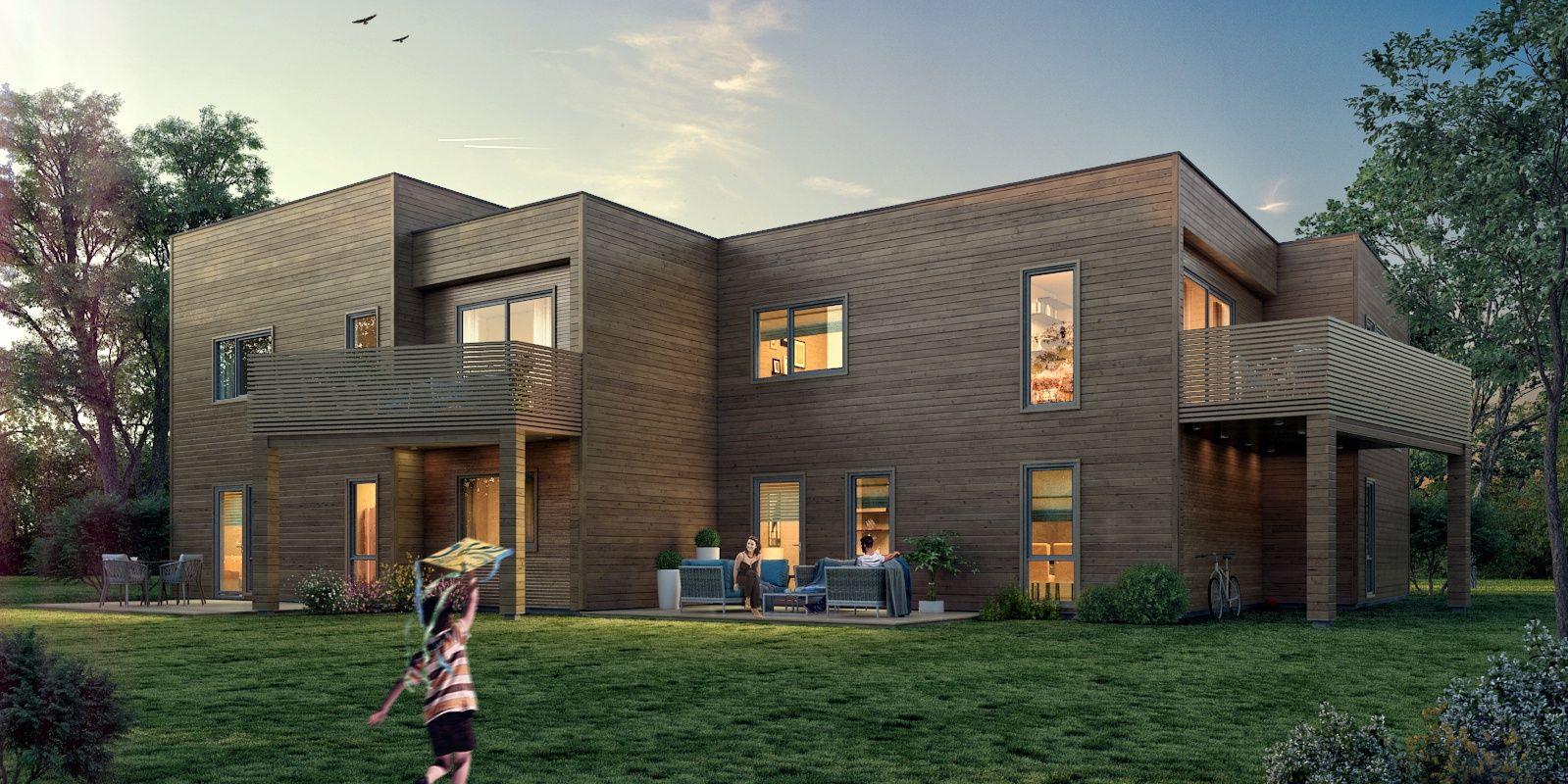 Hustypen Utsikten er en moderne tomannsbolig med mange spennende kvaliteter.