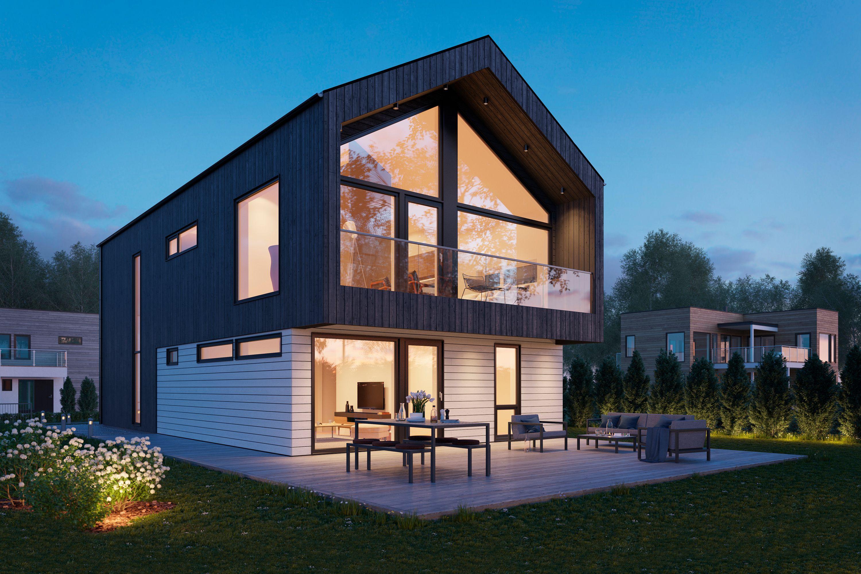 Husmodellen Tønsberg fra Blink Hus