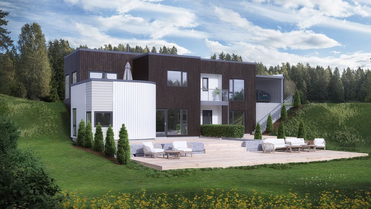 Bilde av husmodellen Syklus fra Norgeshus