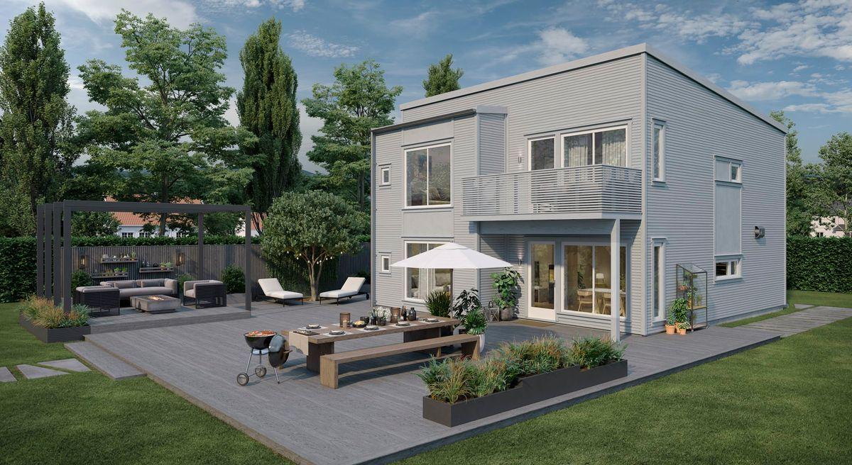 Bilde av Nora husmodell fra ABChus
