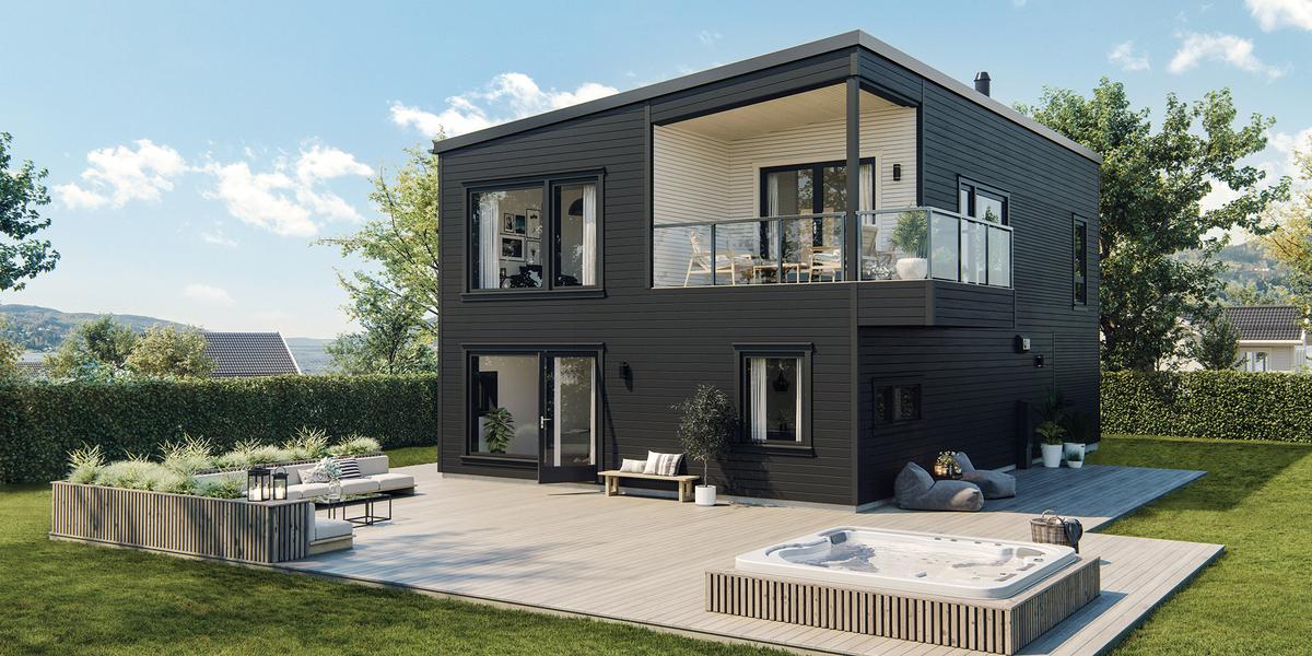 Bilde av Arwen husmodell fra ABChus