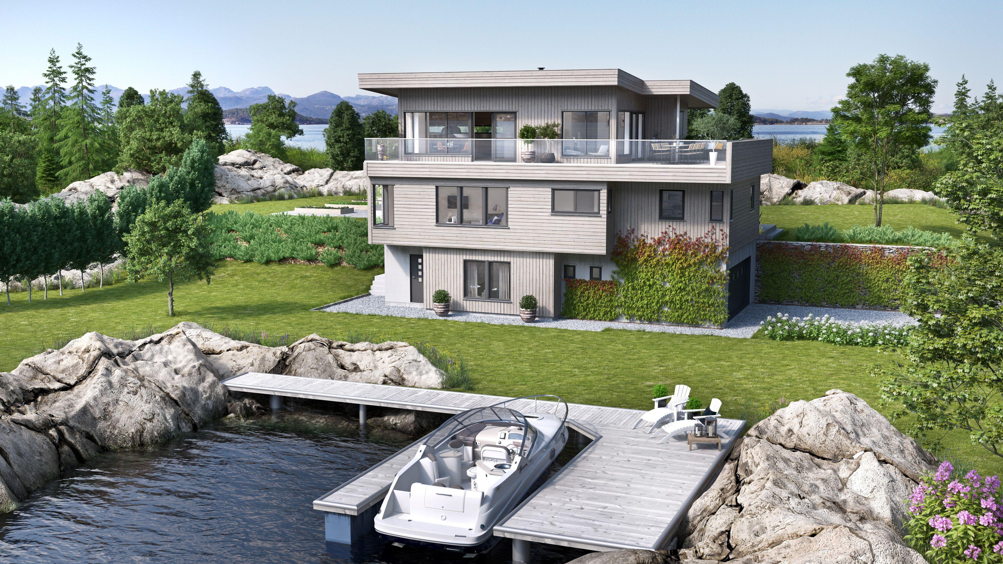 Bilde av husmodellen Eos fra Norske Hus