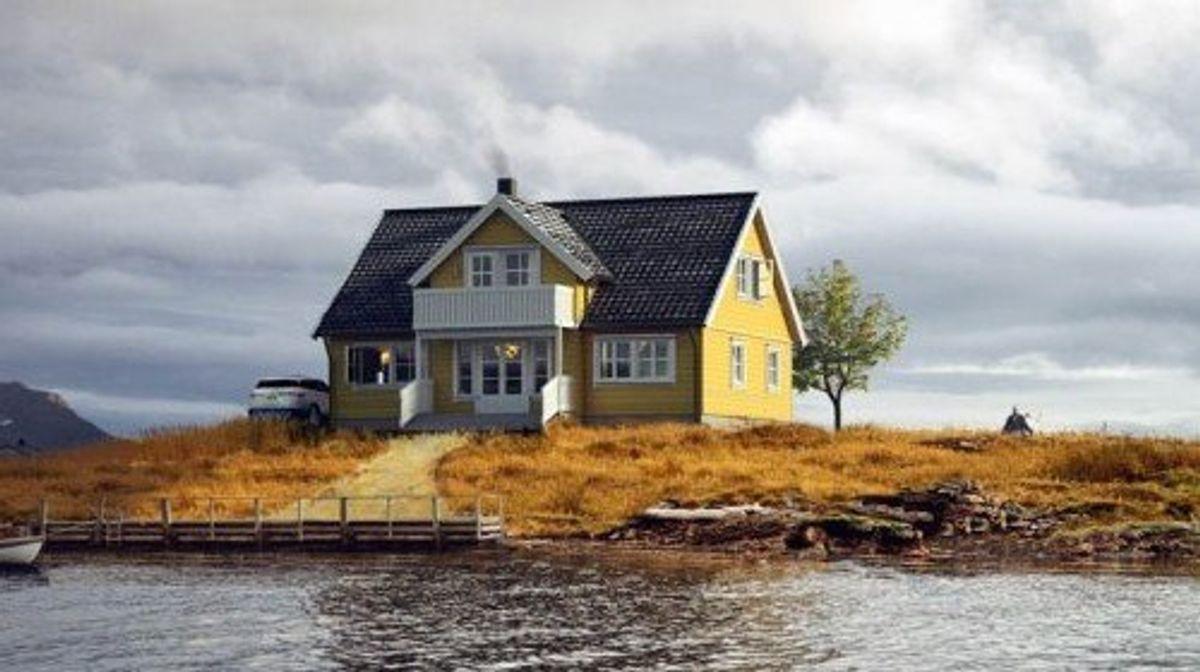 Hustypen Ålesund fra Horten Hus byr på tradisjonsrik hygge i et romslig hjem.