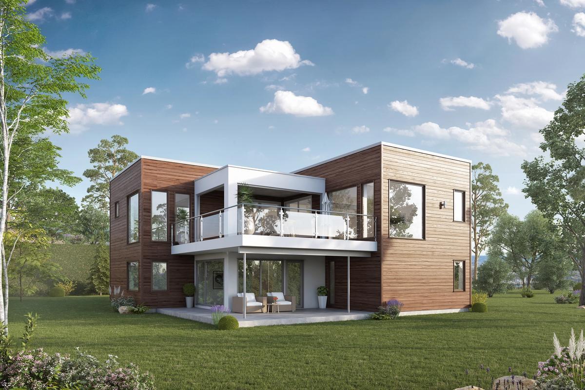 Bilde av husmodellen Haugesund fra Blink Hus