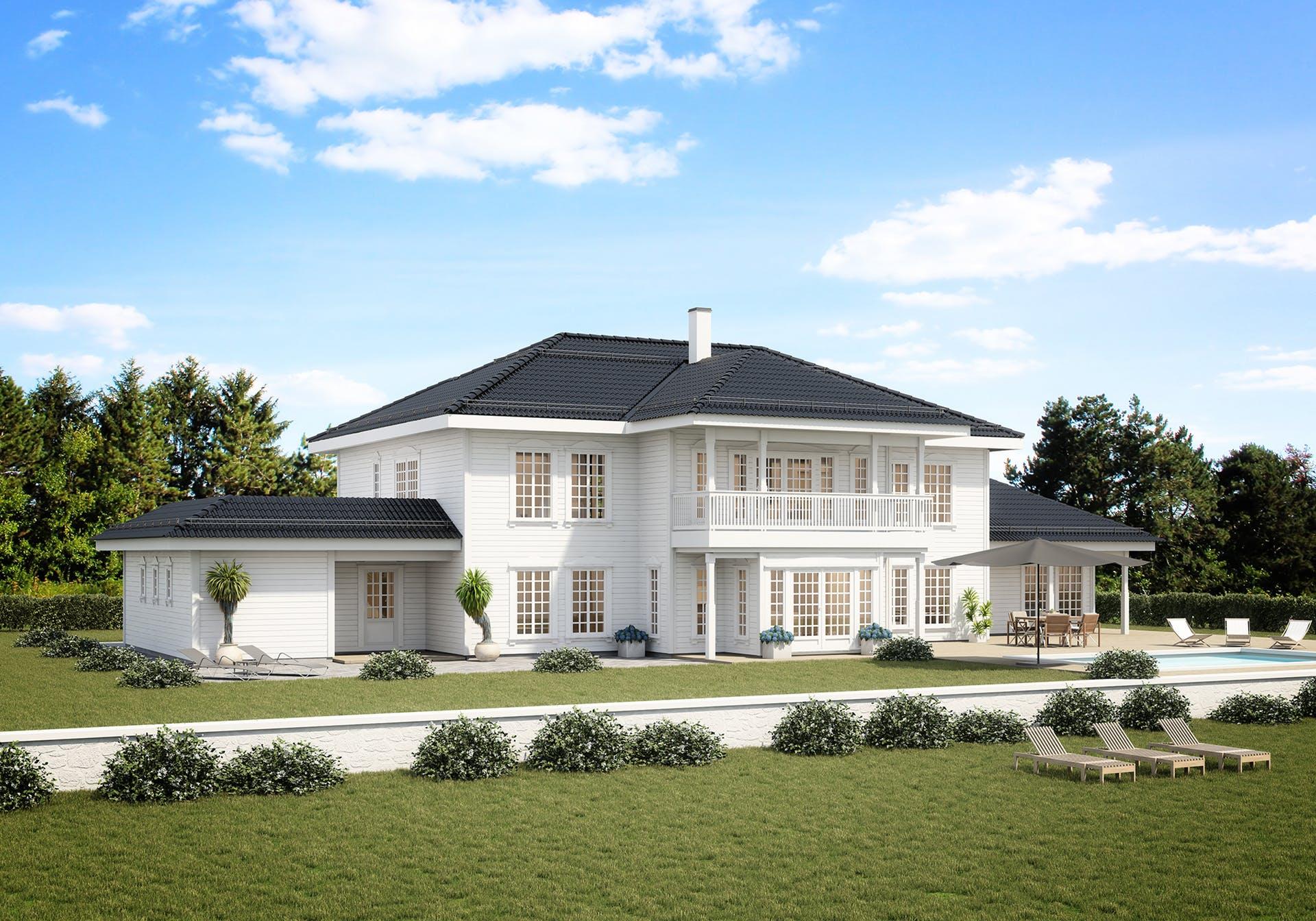 Bilde av husmodellen Villa Austraadt av ferdighusleverandøren Norhus