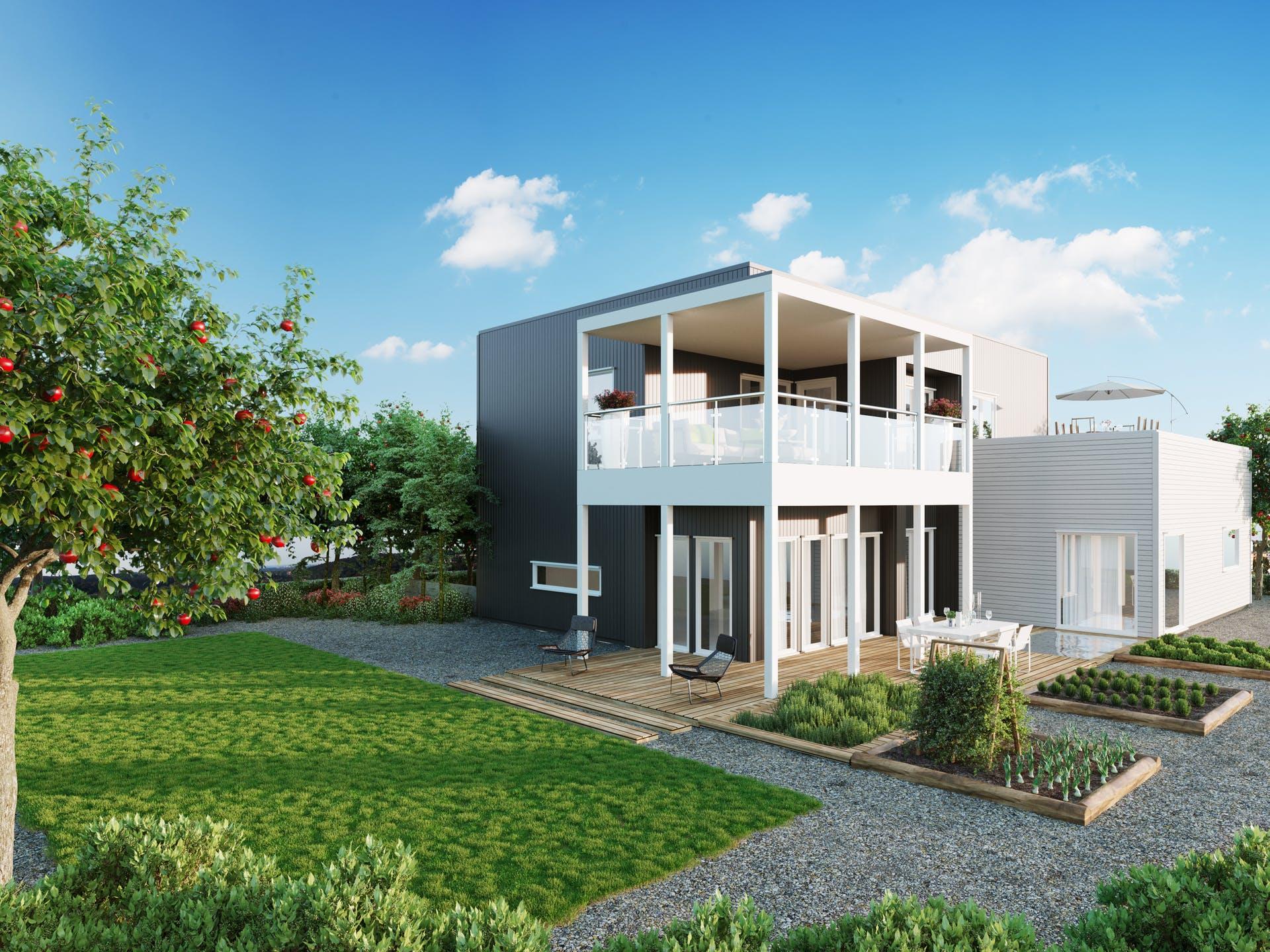 Bilde av husmodellen Skiros av ferdighusleverandøren Norhus