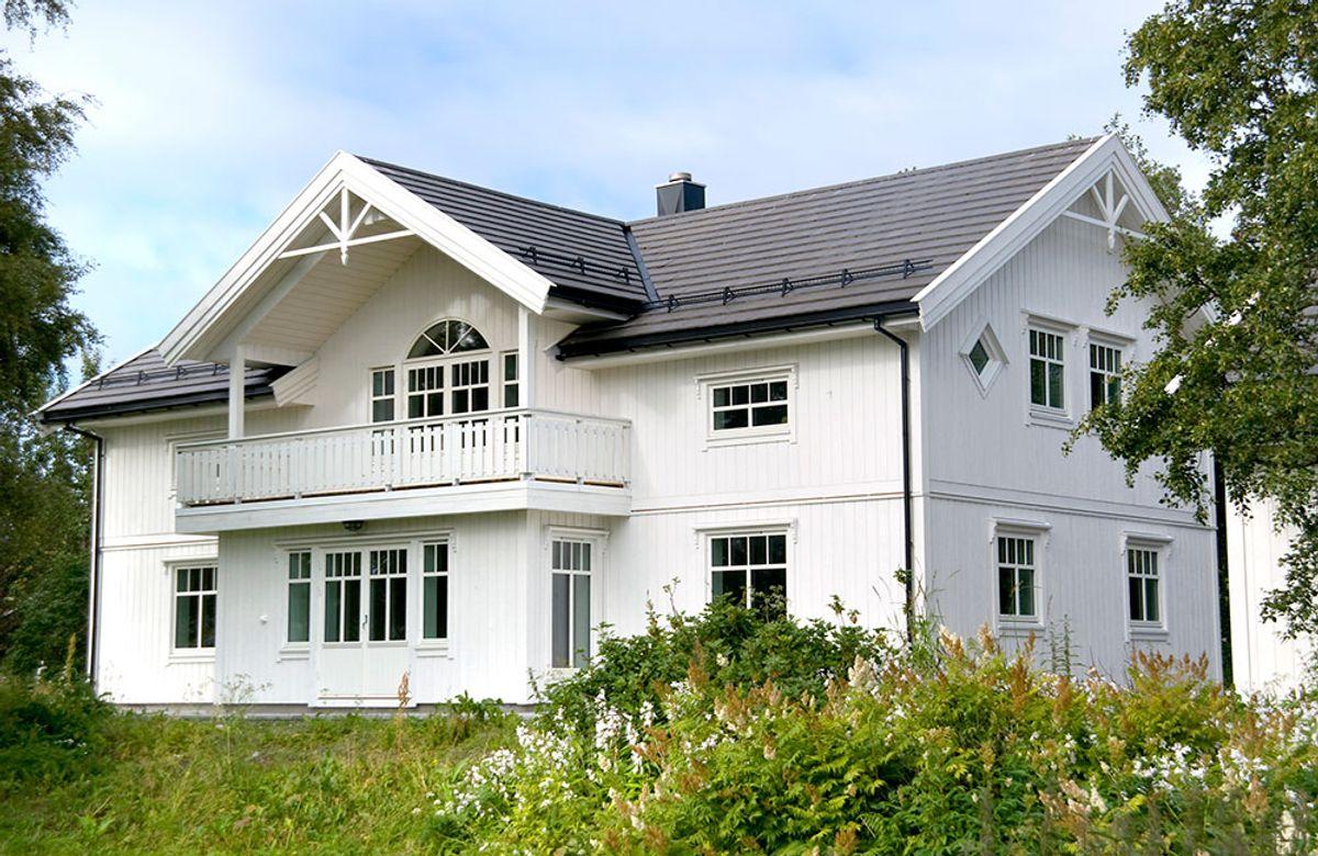 Hustypen Rio fra Blå Bolig er et flott hus med tradisjonsrikt ytre.