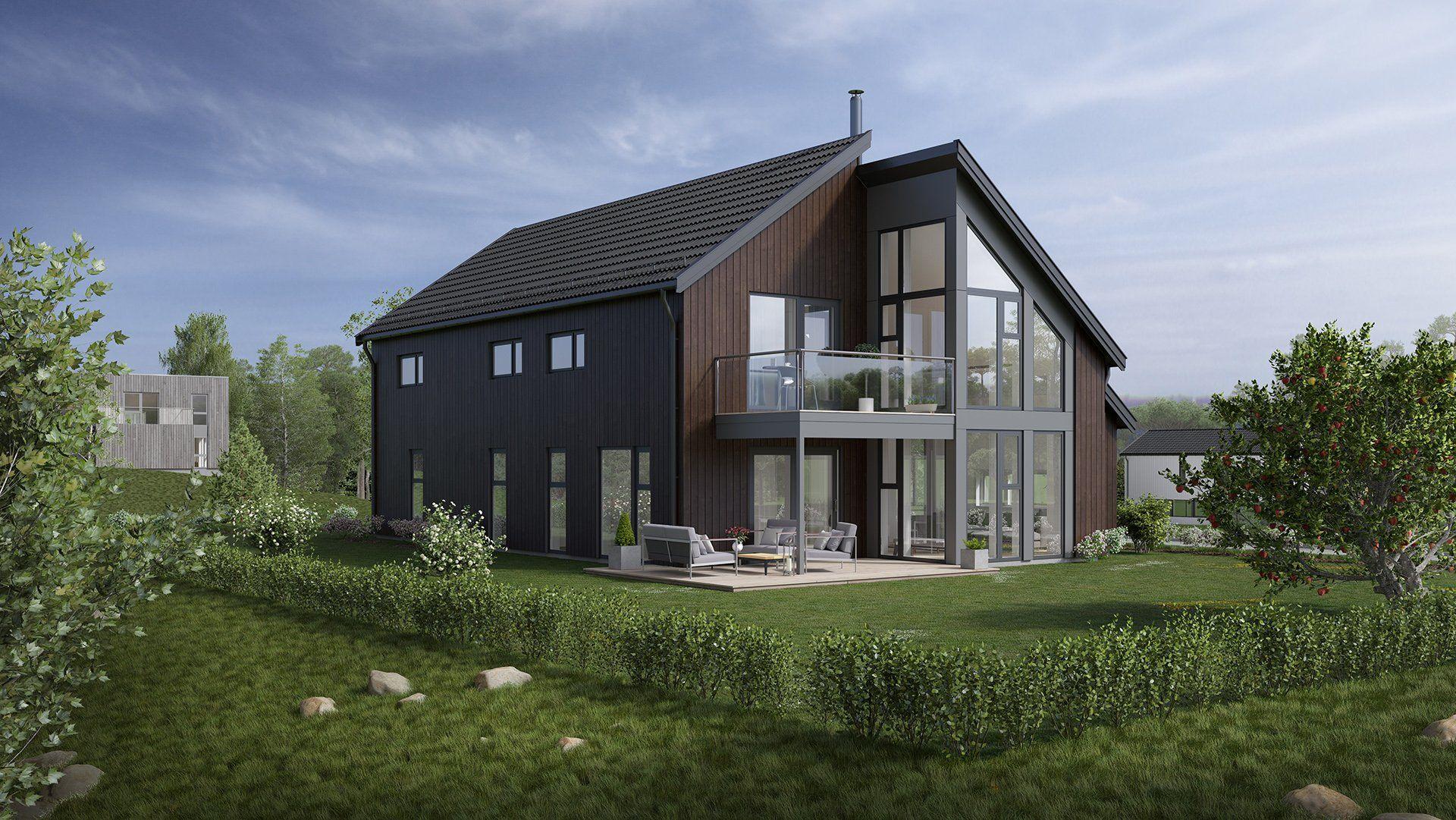 Bilde av husmodellen Nova fra Norgeshus