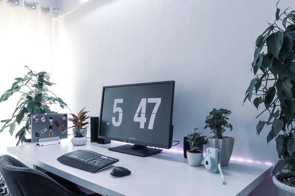 a desktop