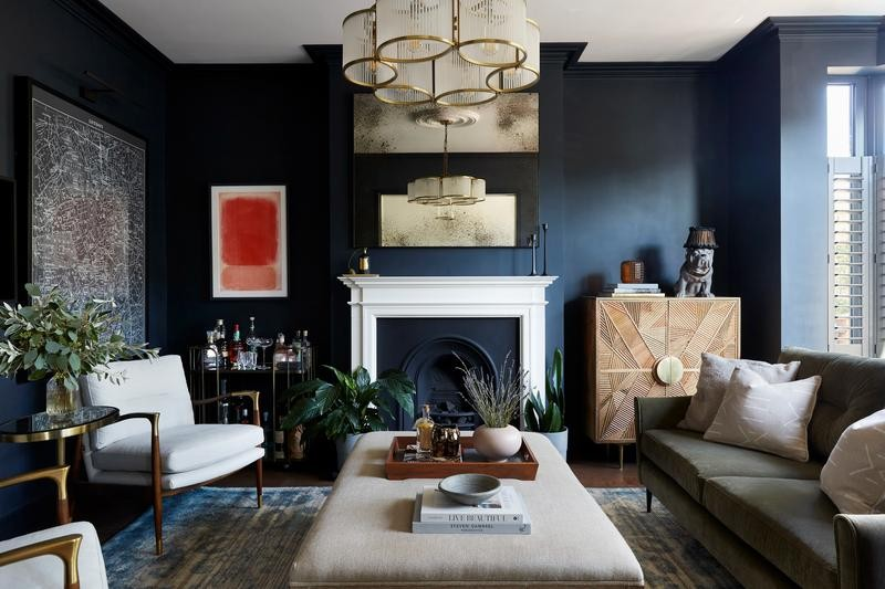 5 Rooms That Show You How Beautiful Dark Paint Can Be