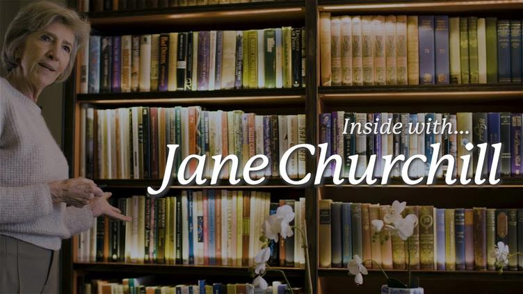INSIDE A CHELSEA TOWNHOUSE WITH JANE CHURCHILL