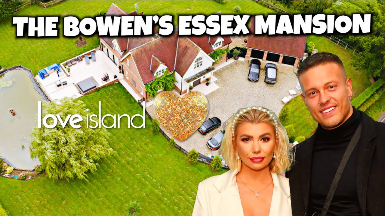 AT HOME WITH... OLIVIA & ALEX BOWEN! TOURING THE DREAM ESSEX MANSION