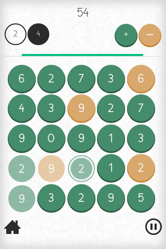 Screenshot from Mathematap game