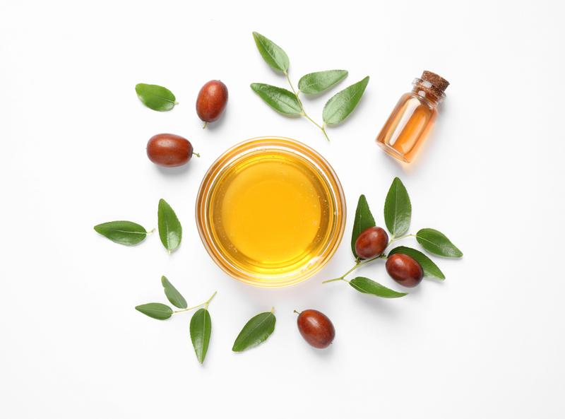 Jojoba seed oil for skin care benefits