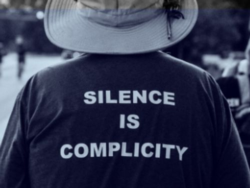 Silence is complicity