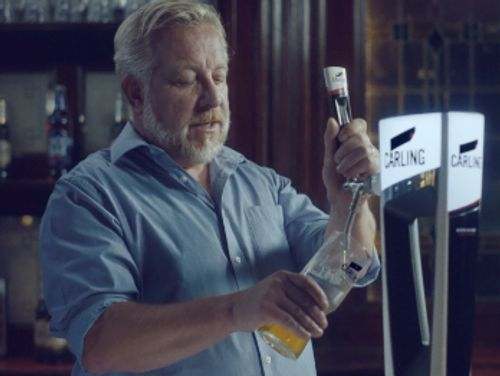 Carling's 'made local' campaign