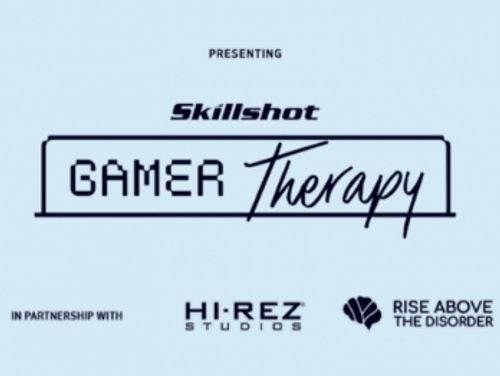 Skillshot Gamer Therapy initiative