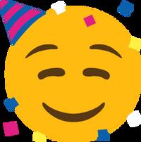 A party emoji