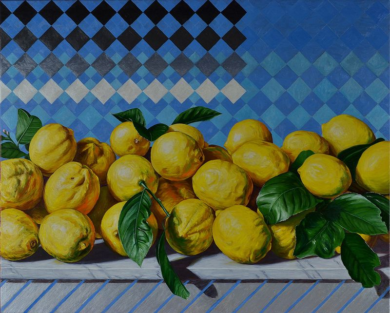 Still Life with Lemons II
