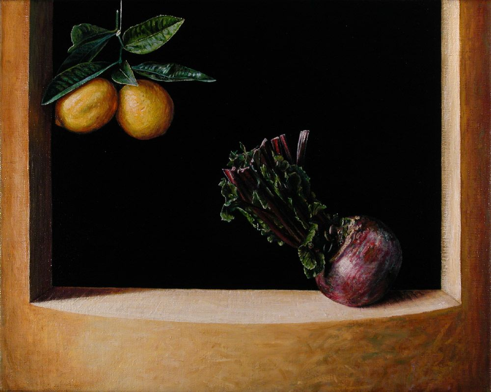 Still Life with Beetroot and Lemon