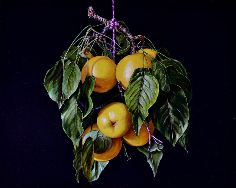 Still Life with Nasi Pears