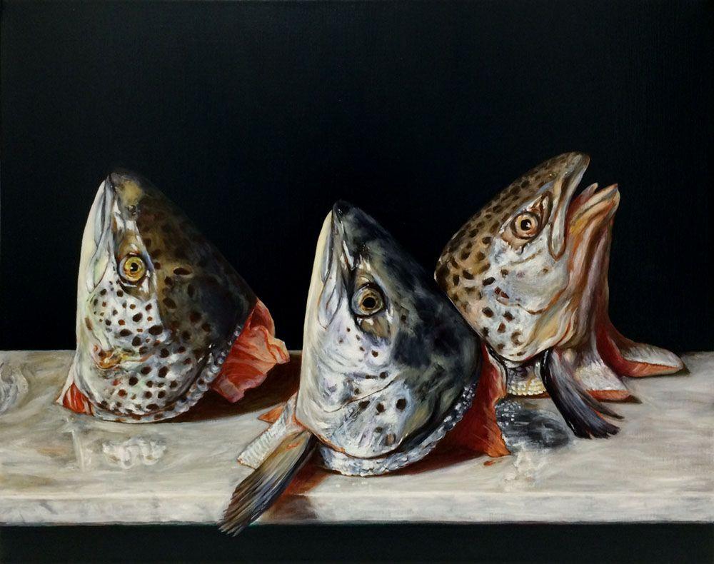 Still Life with Salmon