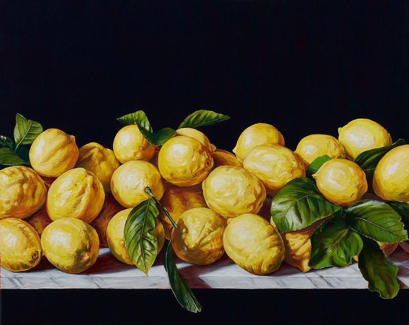 Still Life with Lemons I