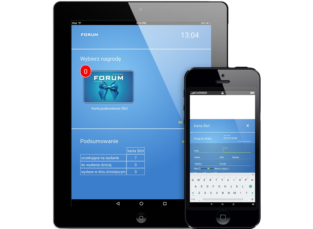 Forum Gliwe App design
