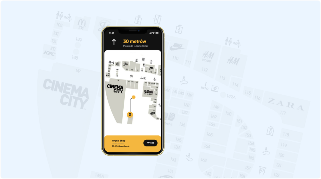 IMS Planner app example