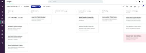 Recruitment system - integrating Gmail, Bravely, Jira, Slack, and Copper CRM