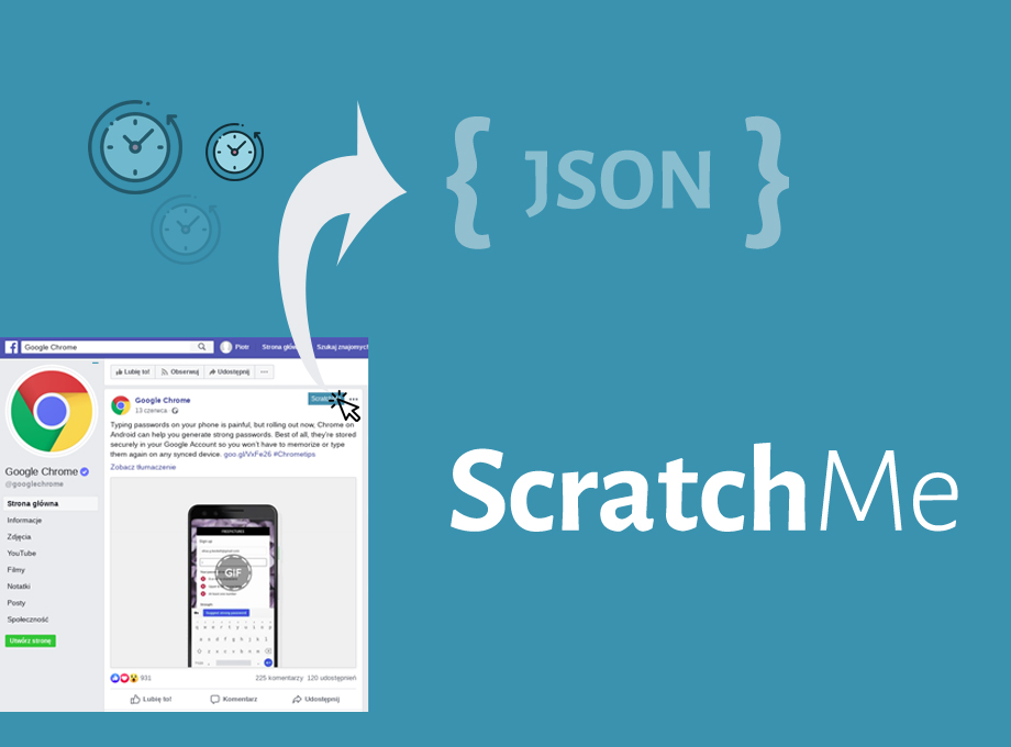Scratch Me – a simple Chrome Extension, which will increase your productivity
