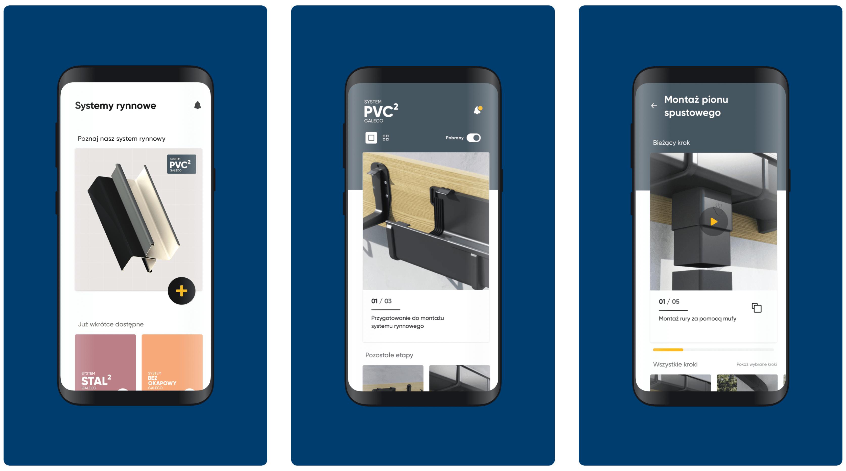 Galeco mobile screen