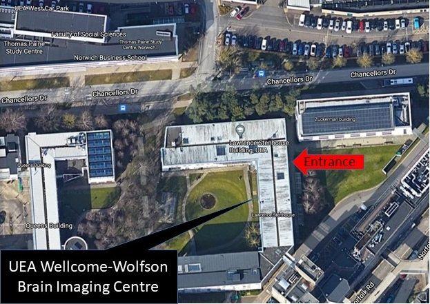 UEA Wellcome-Wolfson brain imaging centre