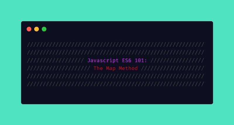 Javascript ES6 101: the map method